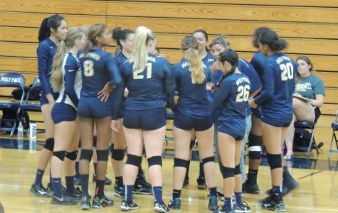 West varsity volleyball team reign supreme against Davis