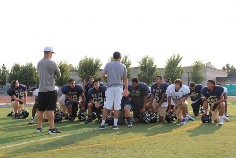 JV football: training for touchdowns and triumph