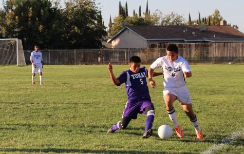Varsity boys soccer starts season with wins against Kimball and Saint Mary's