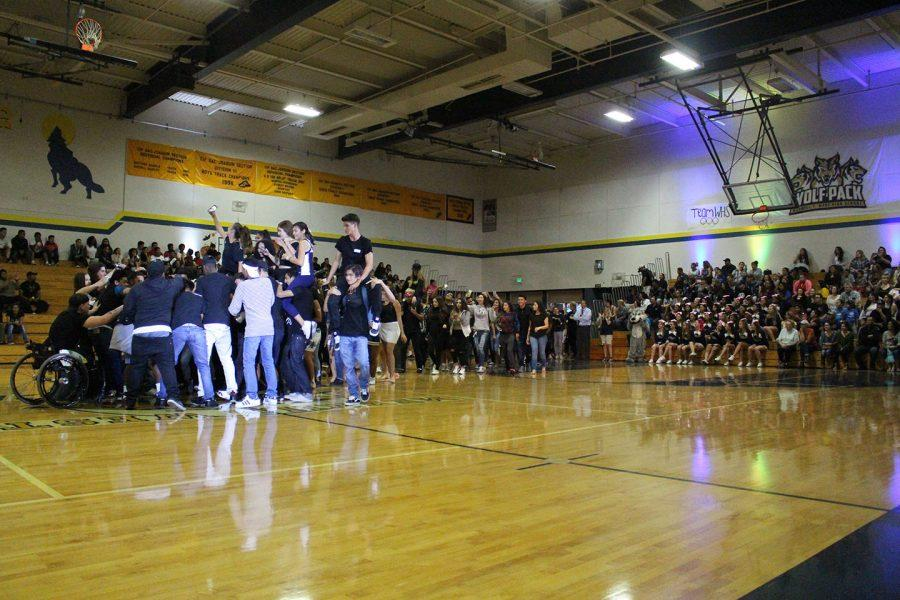 Pumped for Homecoming: Night Rally Success