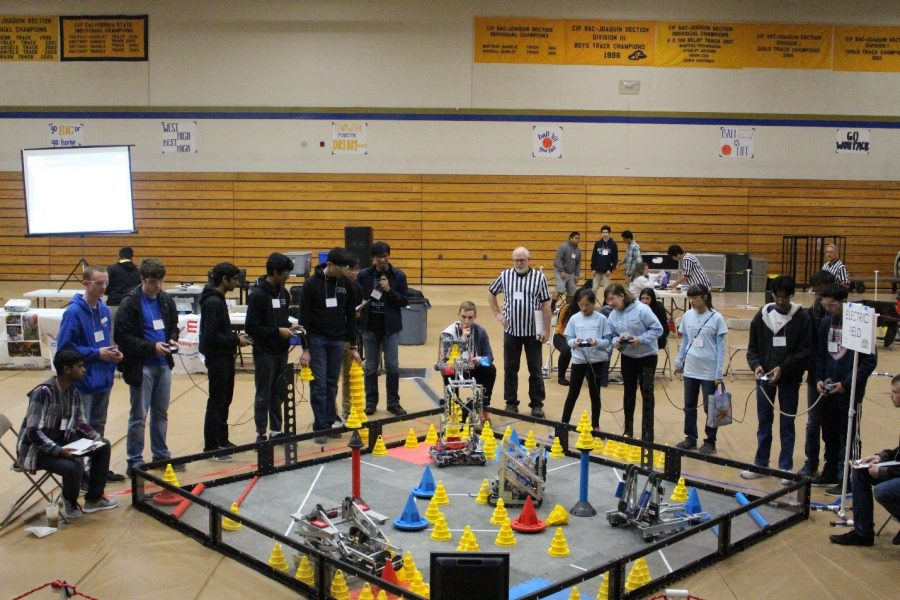 Wolfpack robotics get in the zone