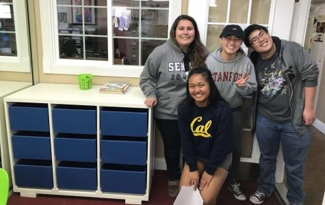 SEA serving their community through senior projects