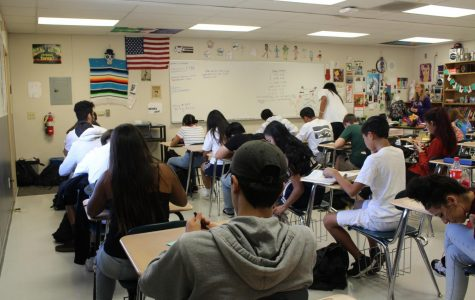 40's a crowd: large classroom sizes leave students scrambling for a seat