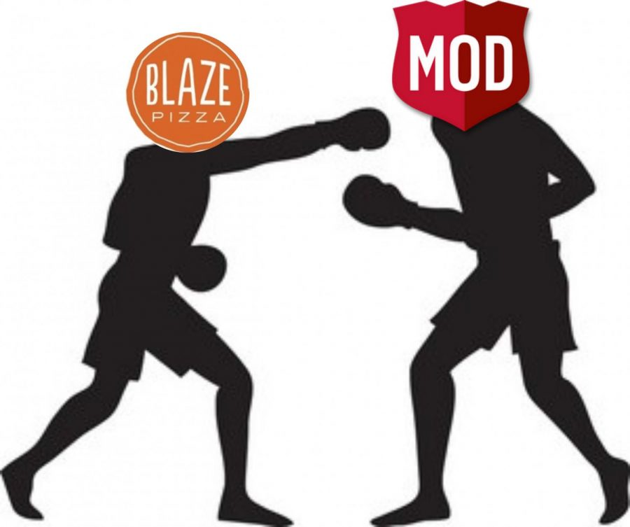 Battle of the pizzerias: MOD Pizza vs. Blaze Pizza
