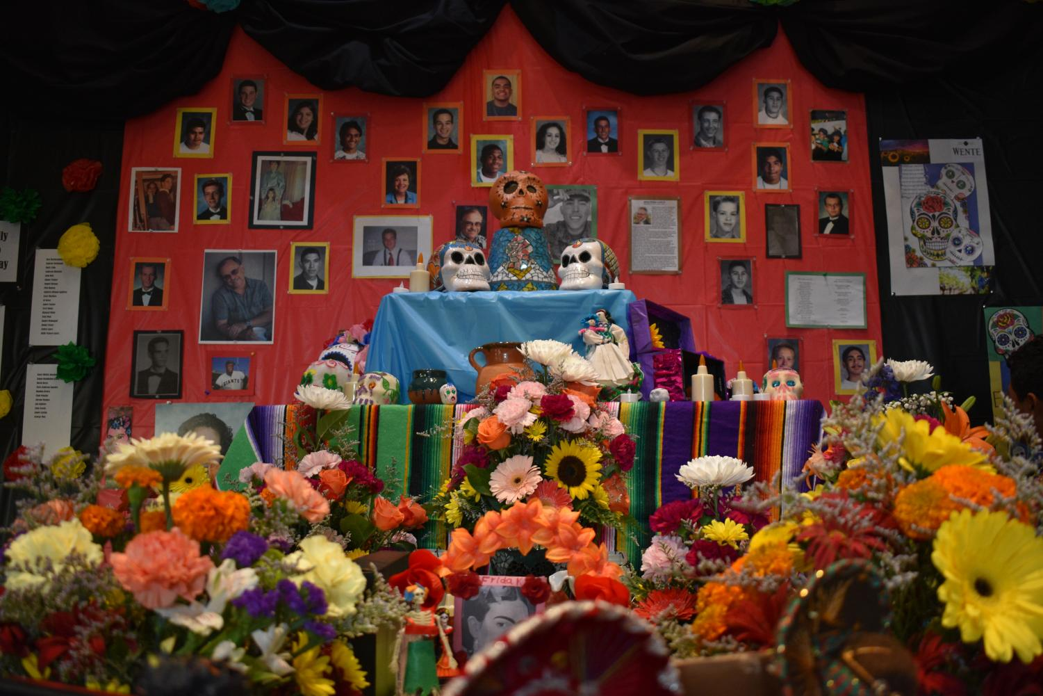 West High's Day of the Dead offrenda