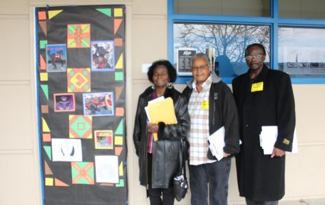 BSU's first Black History Month door decorating