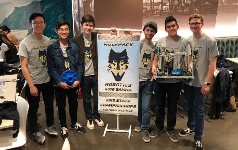 Wolfpack Robotics tinkers their way to state championships