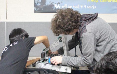 Robotics Stacks Up Their Skills