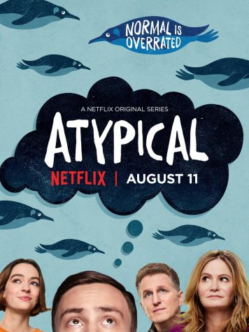 Atypical promotional poster. Photo courtesy of Google.
